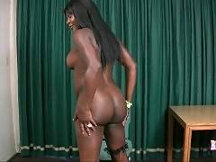 Ebony ass digger is ready for nonstop anal sex