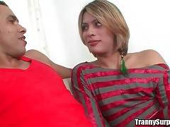 Pretty tranny Nathally Velmont is in mood for sex.