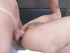 Lovely Craving She-Male Bangs Her Friend 1