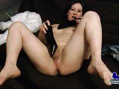 Naughty She-Male Asna Pleasures Herself 3